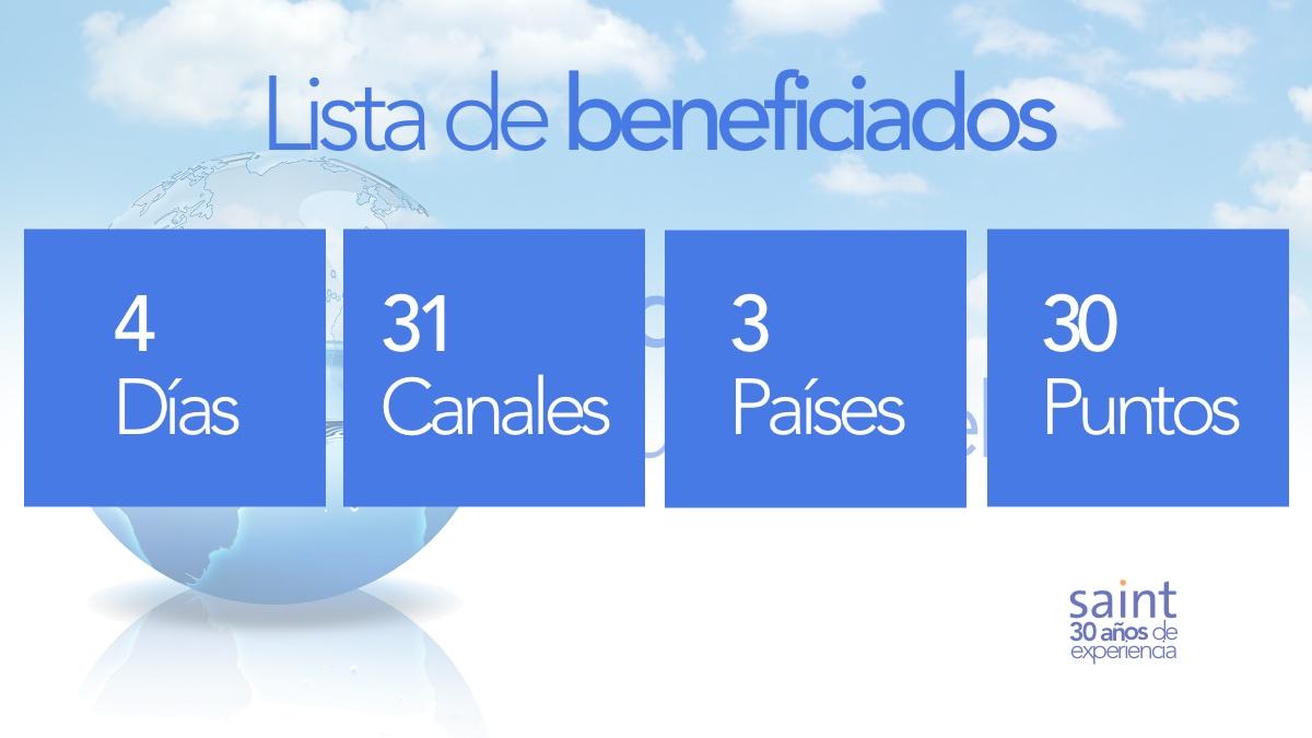 Beneficiados del especial Día Mundial del Agua