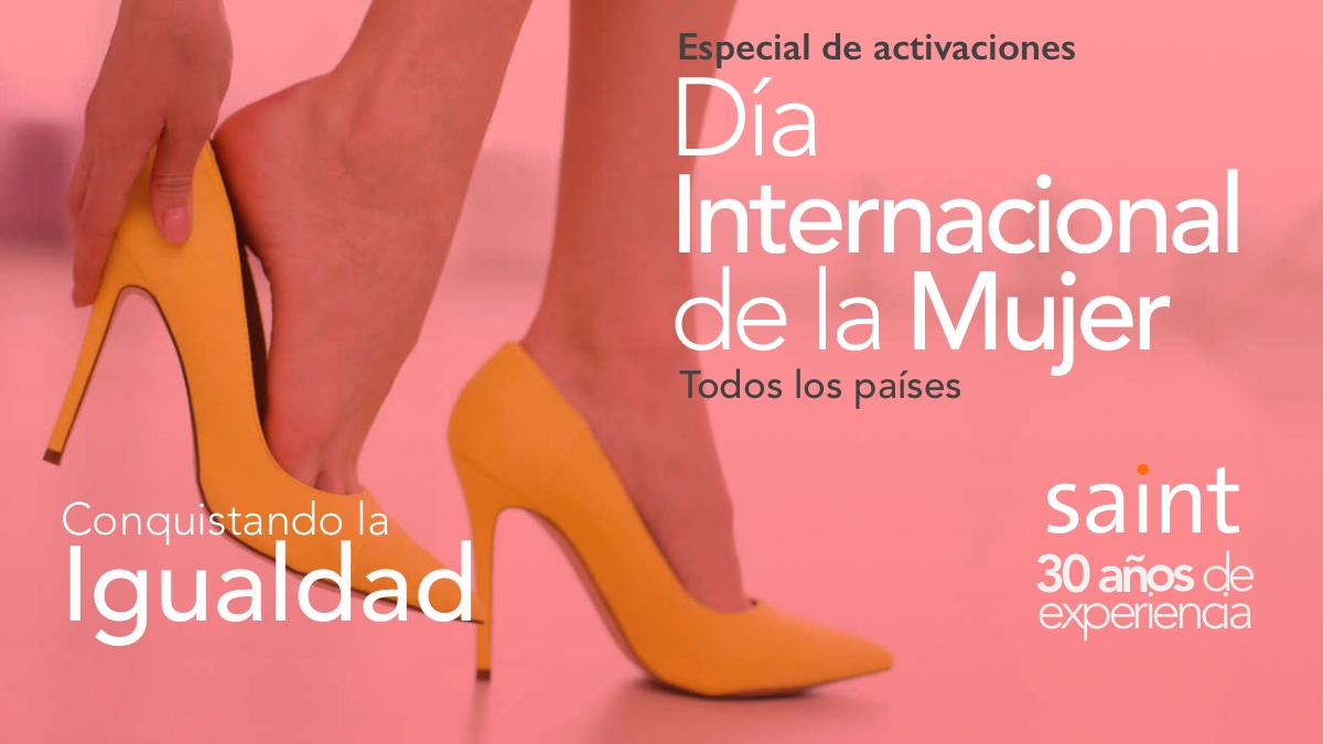 Especial de activaciones, Día Internacional de la Mujer 2020
