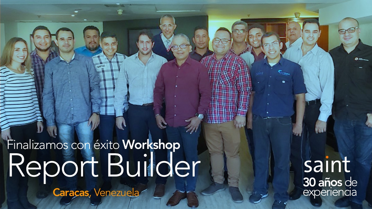 Finalizamos con éxito Workshop Report Builder