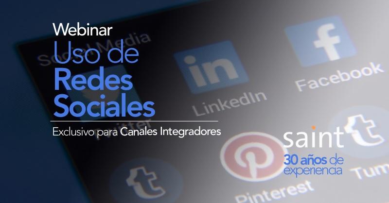 Webinar redes sociales para Canales Integradores