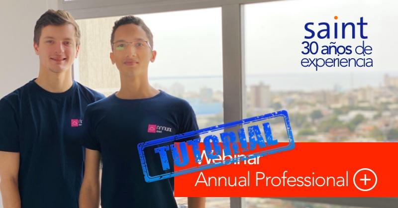 Webinar Annual Professional +