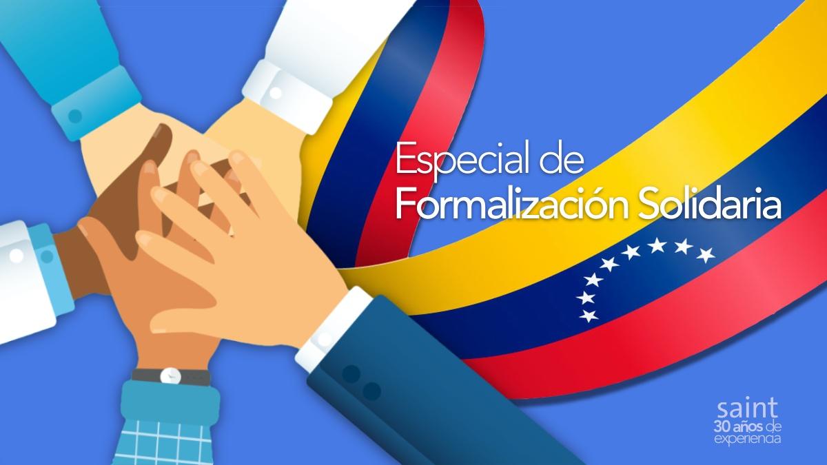 Especial de Formalización Solidaria