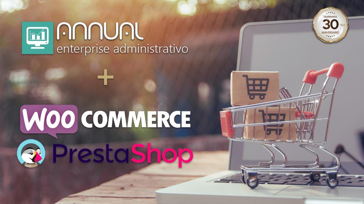 Conecta Annual enterprise con unatienda online