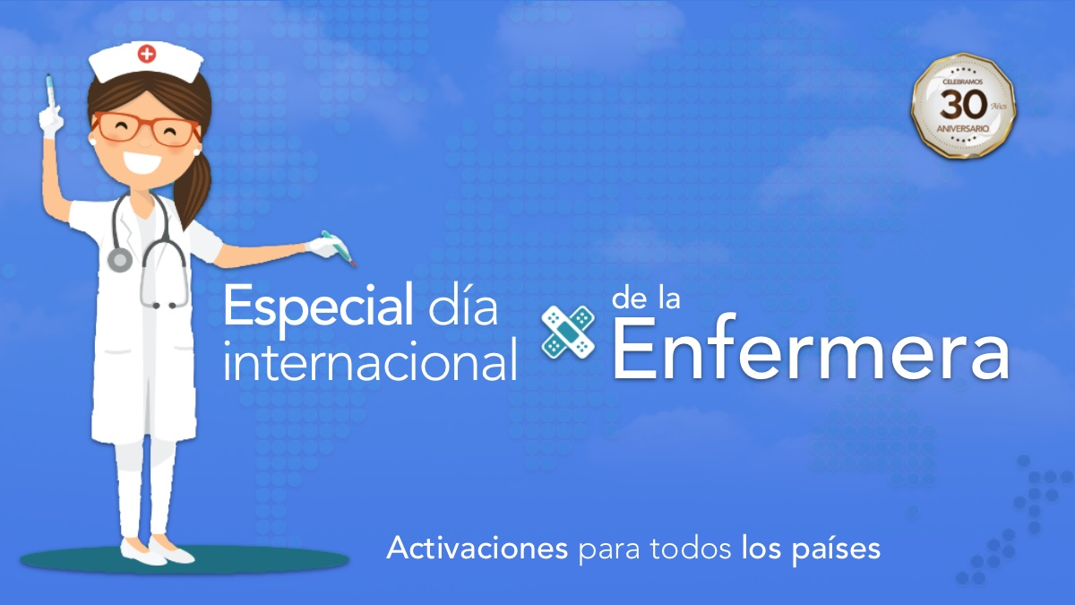 Especial de activaciones Día Internacional de la Enfermera 2020
