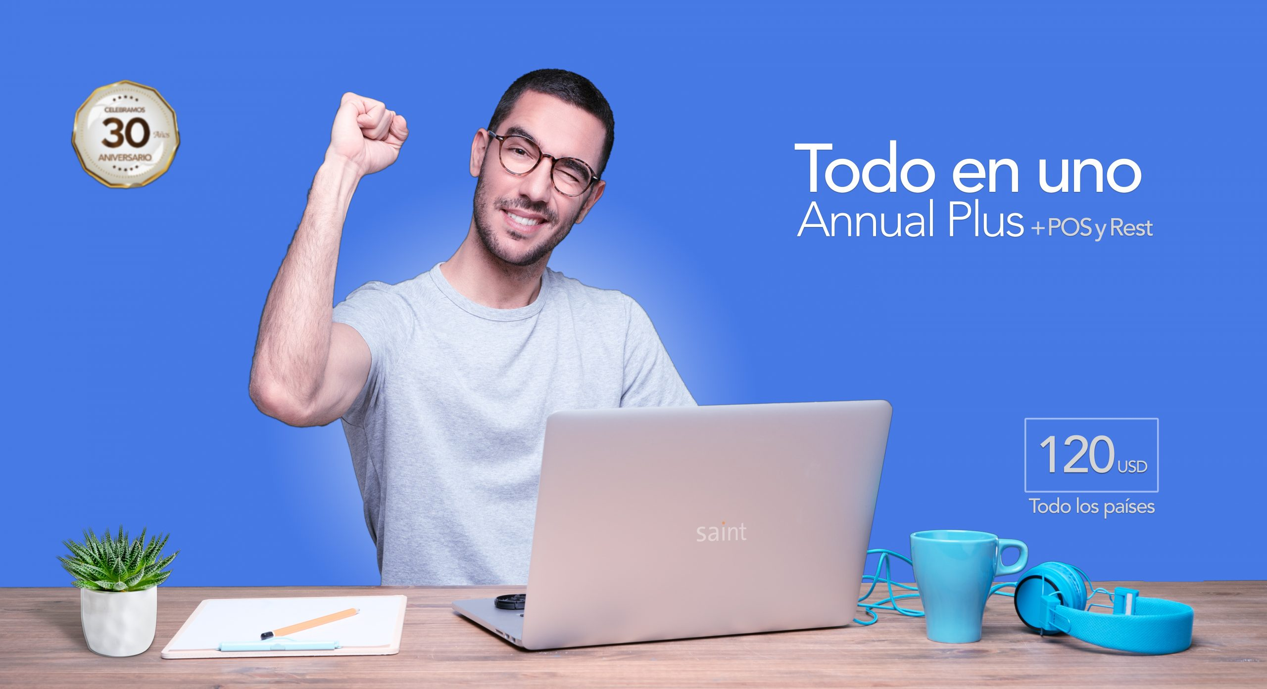 Todo en Uno Annual enterprise Plus + POS y Rest