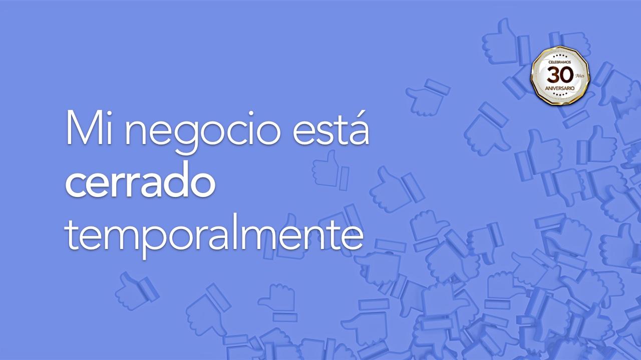 Recomendaciones de Facebook empresas