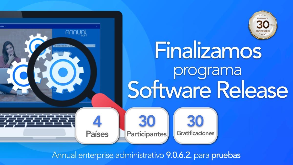 Finalizamos Programa Software Release