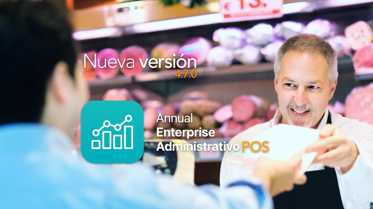 Nuevo Annual Enterprise Administrativo POS