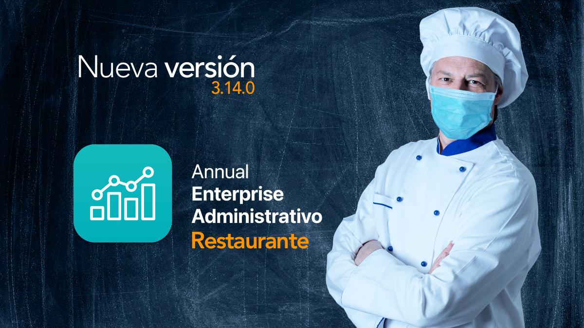 Nuevo Annual Enterprise Administrativo Restaurante