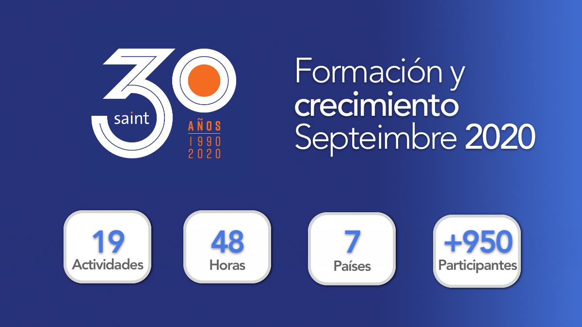 Resumen Formación y Crecimiento septiembre 2020