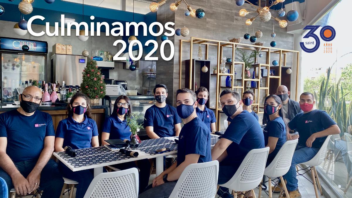 Celebramos culminación de metas 2020