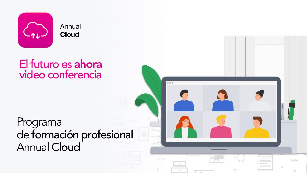 Participa en el Programa de formación profesional Annual Cloud