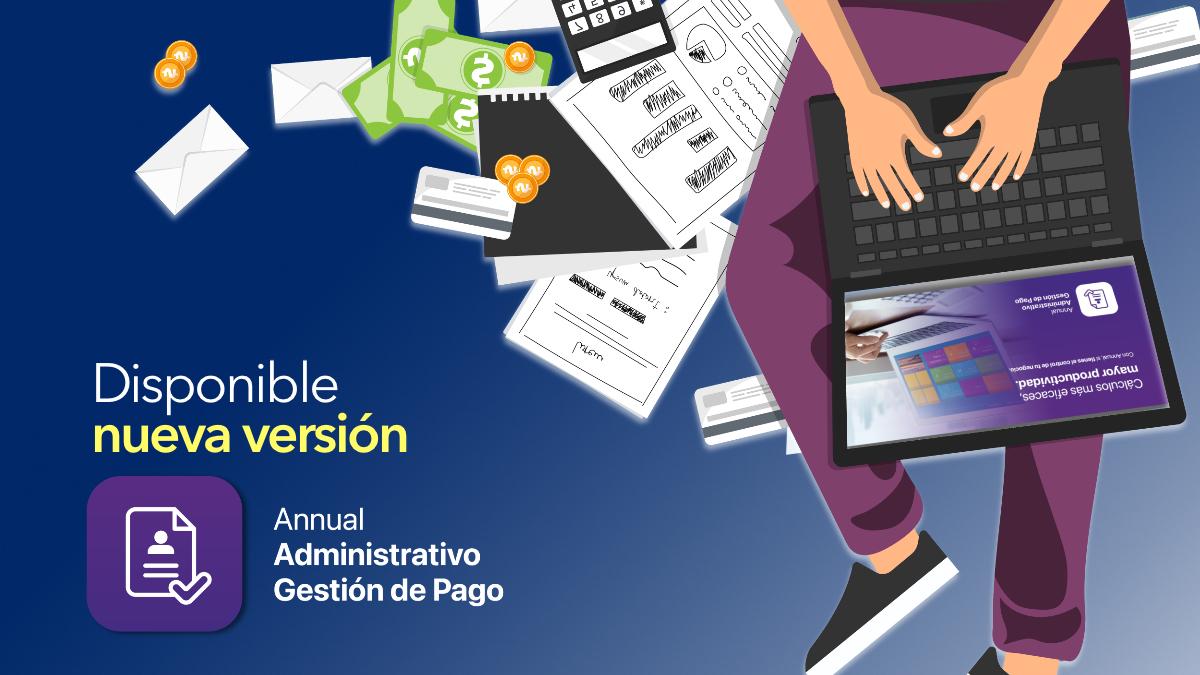 Disponible nueva versión de ANNUAL Enterprise gestión pago
