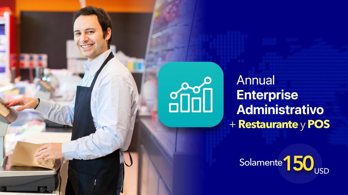 Annual enterprise administrativo +Restaurante yPOS